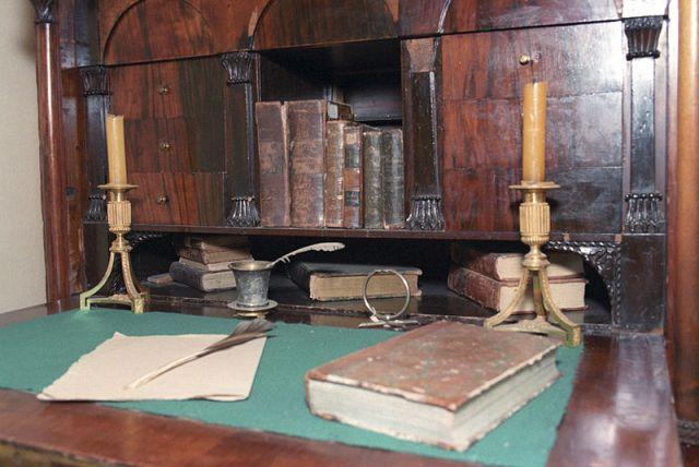 Pushkin's Study (Photo: RIA Novosti archive, image #549323)
