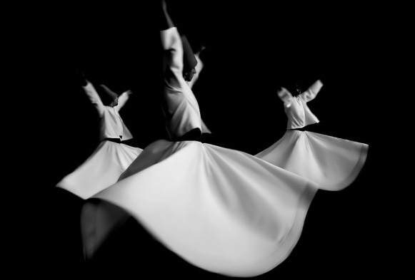 Whirling dervishes. Photo from agratravel.com