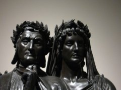 Dante and Virgil, photo taken by me 7 years ago, of a sculpture at the Boston MFA