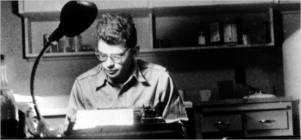 Ginsberg in San Francisco, 1955 (Peter Orlovsky/Archive of Allen Ginsberg)