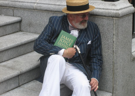 Bloomsday in Dublin, 2007: Flickr/Ted Rheingold
