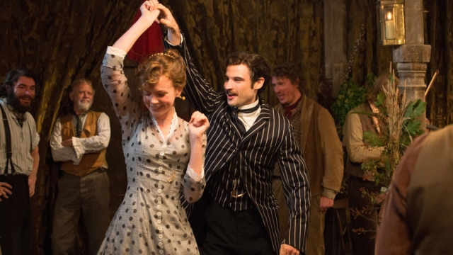 "Carey Mulligan and Tom Sturridge star in the drama ""Far from the Madding Crowd"". Pictured: Carey Mulligan and Tom Sturridge Ref: SPL983738 310315 Picture by: Fox Searchlight/Splash News Splash News and Pictures Los Angeles:310-821-2666 New York:212-619-2666 London:870-934-2666 photodesk@splashnews.com"