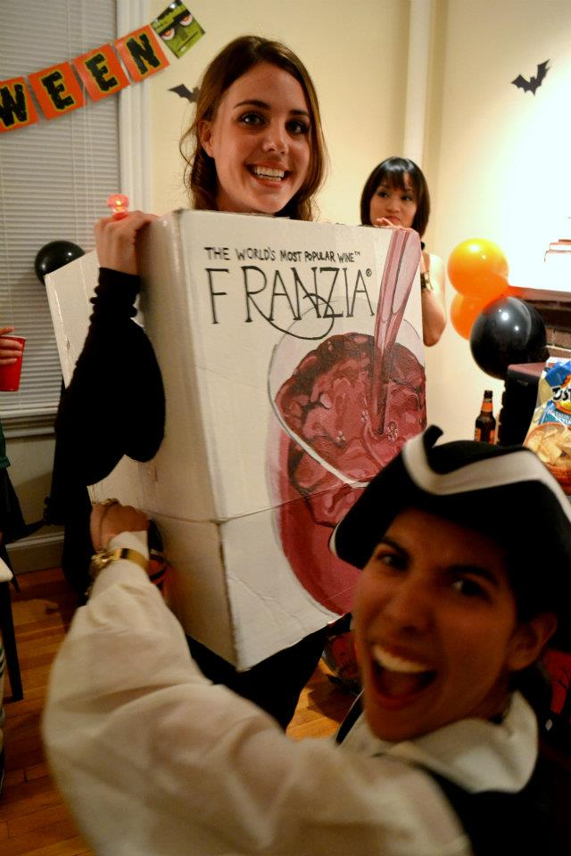 Some folks get so creative with their costumes. Clearly, I am thrilled about this one.