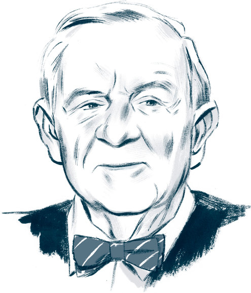 John Paul Stevens Illustration by Jillian Tamaki