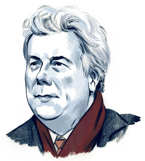 Ken Follett Illustration by Jillian Tamaki