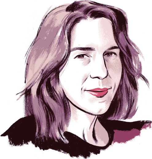 Rachel Kushner Illustration by Jillian Tamaki
