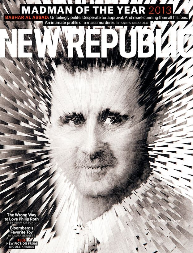 The first copy of the New Republic I ever picked up