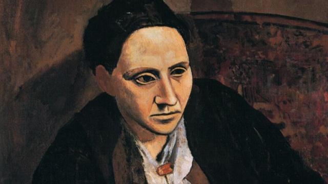 Pablo Picasso, Portrait of Gertrude Stein, 1906, Metropolitan Museum of Art, New York.